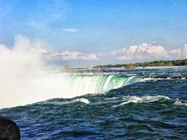This is a view of Niagara Falls.  Thank you.