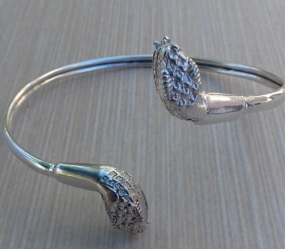 925 silver cuff bracelet for women Snake bracelet Sterling