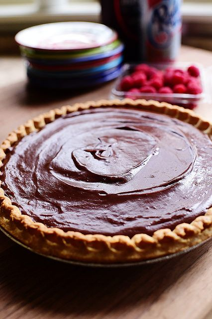 Chocolate Pie. Simple, easy, basic, timeless...delicious!