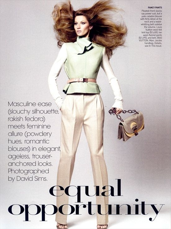 Жизель Бундхен (Gisele Bundchen), Vogue US August 2008 (Интернет-журнал ETODAY)