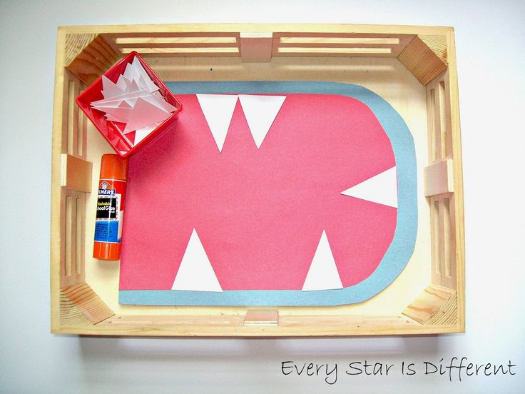 Shark Activities for Tots w/ Free Printables