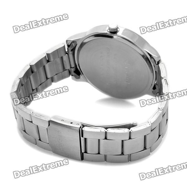 Best Fashion Stainless Steel Quartz Wrist Watch (1 x LR626)