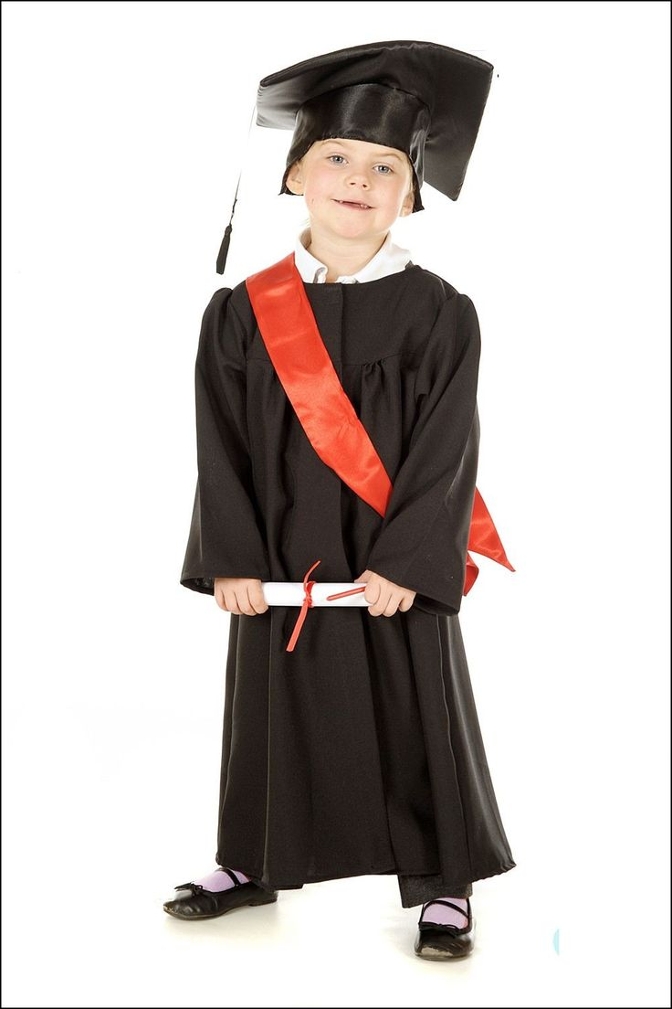 Cap and Gown for Kids
