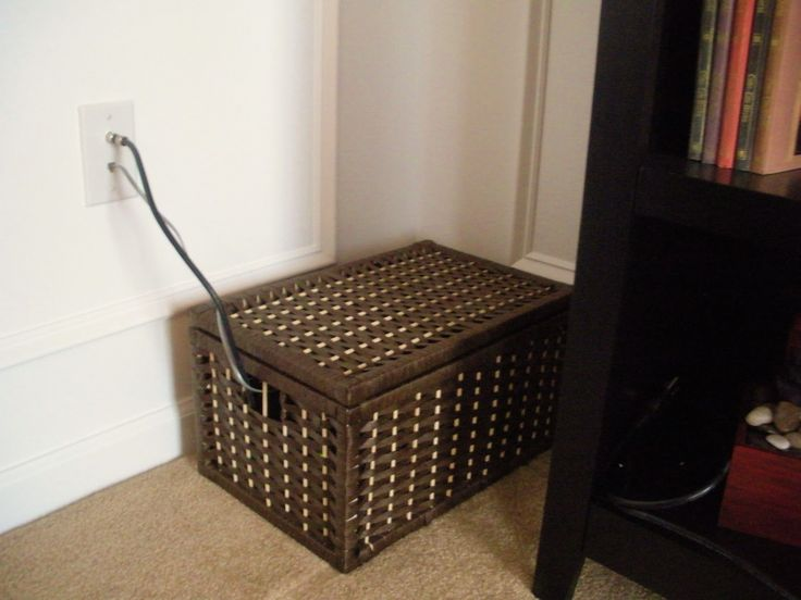 box to hide router and modem
