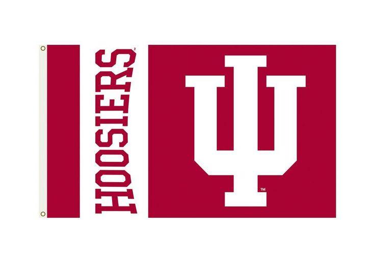 Indiana Hoosiers 3'x5' Flag