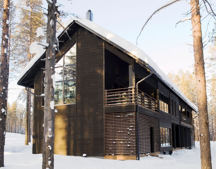 Levi Spirit luxury villas offer peace and comfort in the calm of Arctic natur