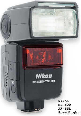Nikon SB600 Speedlight - Let there be light!  This works wireless also with my Nikon D80.  Great light.