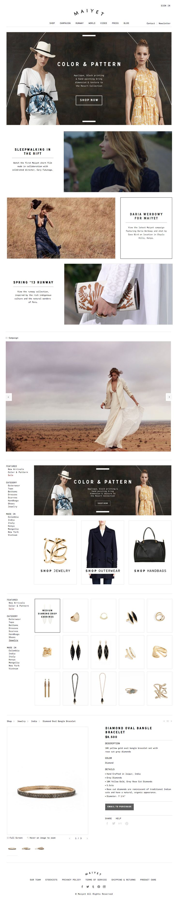 Fashion #ecommerce #website #design #web #webdesign