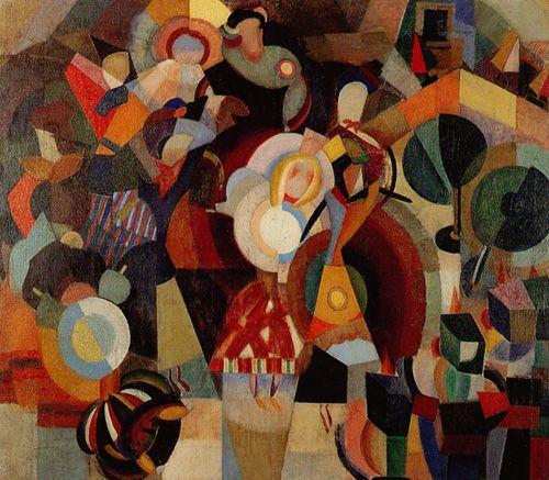 A revolta - A revolta das bonecas - Eduardo Viana - Orphism, 1916