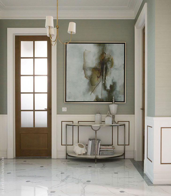 Moscow House With American Modern Classic Interiors Zhurnal Pro