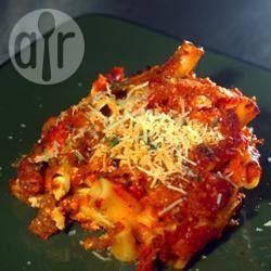 Chicken and chorizo pasta bake @ allrecipes.co.uk