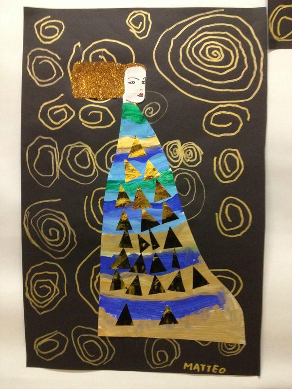 Princesse à la manière de Klimt