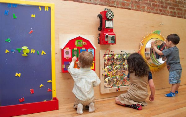 For Sensory Play and a (Small)  Bounce House: Raising Astoria
