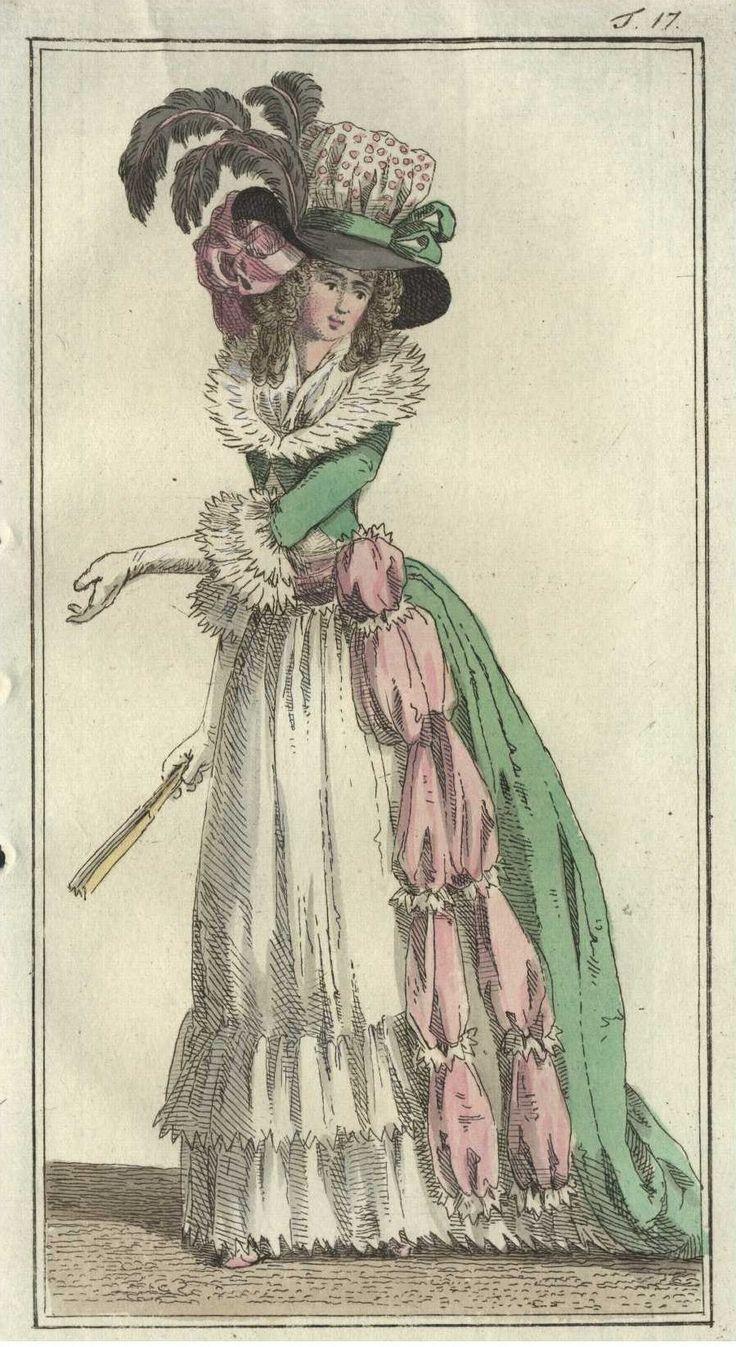 Journal des Luxus und der Moden, 06/1788 . Tafel 17