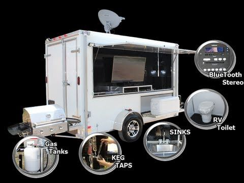 Tailgating Trailer Builds & Options - Ready-2-Roll-Trailers.com