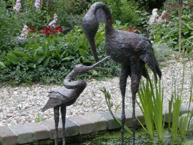 Garden Sculpture. Garden StatuesGarden SculpturesGardens