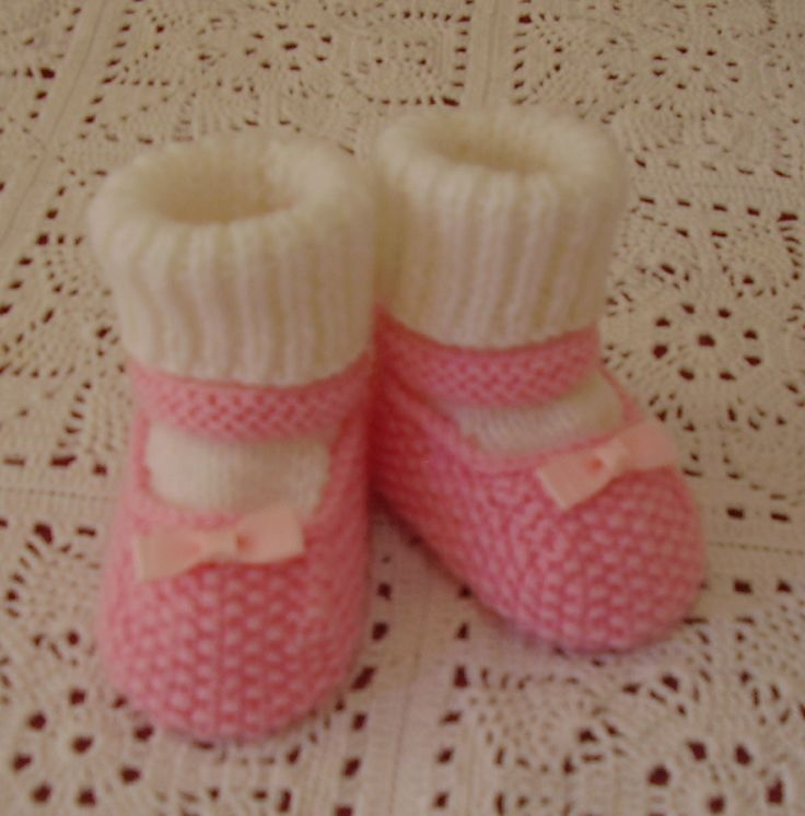Mary-Janes-with-Socks handknitted by me. Available in different colours - on website or FB page. Butterfly Babywear Boutique.