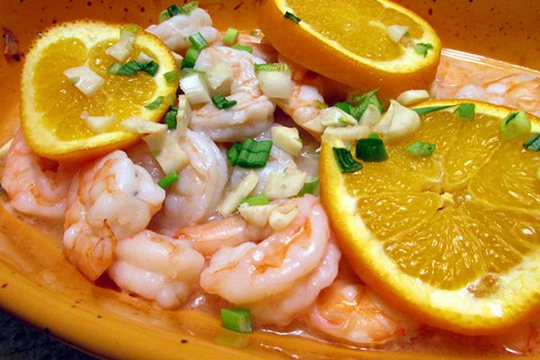 Citrusy Garlicky Baked Shrimp..  Zesty, shrimpy, and really very good! #shrimprecipes
