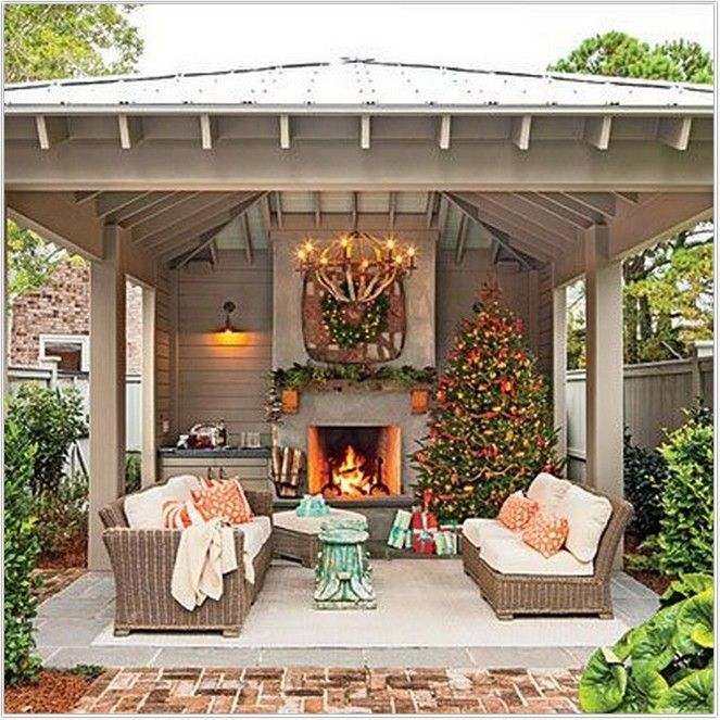 50 Backyard Patio Designs That You Must Understand For Comfort 36 Backyard Fireplace Outdoor Fireplace Outdoor Rooms