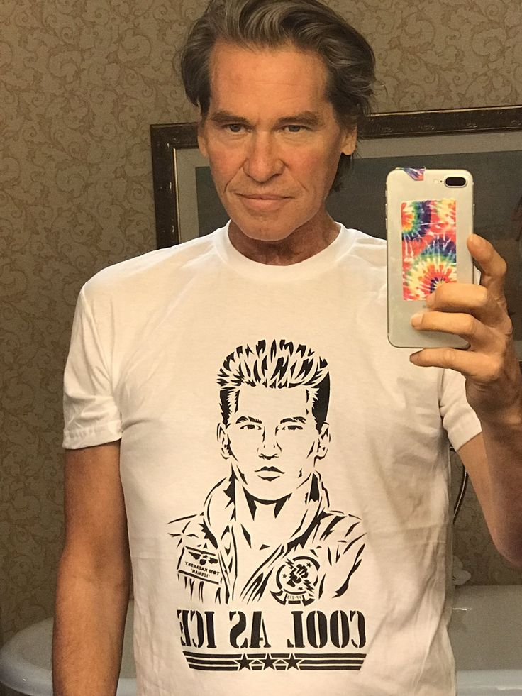 Val Kilmer posts new selfie in campaign to join 'Top Gun' movie sequel