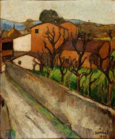 La Strada, 1908 - Ardengo Soffici (Private Collection)