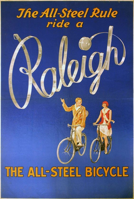 Vintage Raleigh adverts that nail spring cycle style - See more at: https://www.cyclechic.co.uk/blog/2016/04/vintage-raleigh-adverts-nail-spring-cycle-