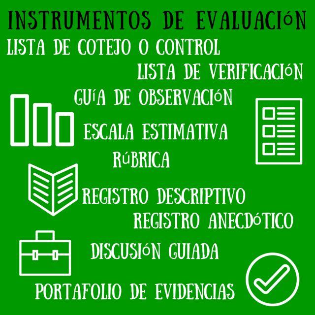 Contar con TIC: Instrumentos de evaluación