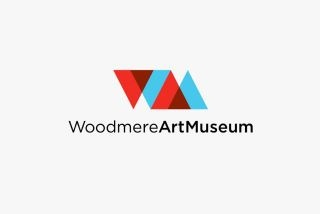 woodmere art museum logo by 160over90