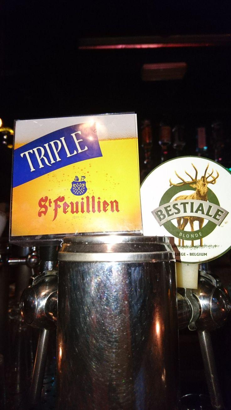 Et en voilà deux ✌️On l'as en bouteille La St Feuillien grand cru et maintenant aussi au fût La St Feuillien TRIPLE ! 🍻