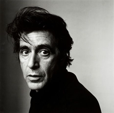 Al Pacino, New York, 1995.  By Irving Penn