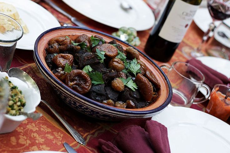 Moroccan Lamb Tagine with Sweet Honey Figs | Recipe | Figs, Lamb and ...