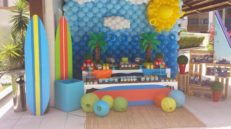 Festas e Cia: Festa na piscina