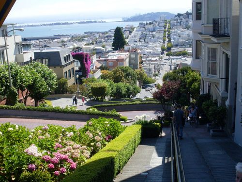 Lombard St, San Francisco, California, USA: Lombard Street, Spaces, Favorite Places, Sanfrancisco, Travel, Ive, San Francisco