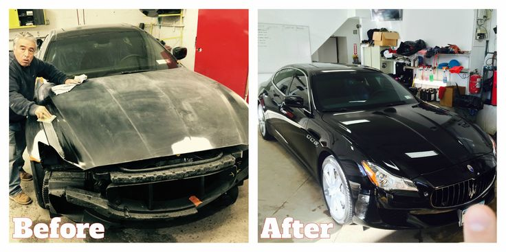 It was an absolute pleasure working on this 2015 Maserati Quattroporte S Q4! #cars #autobody #statenisland
