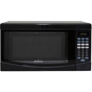 Sunbeam 0.7 CuFt 700 Watt Microwave Oven SGKE702, Black