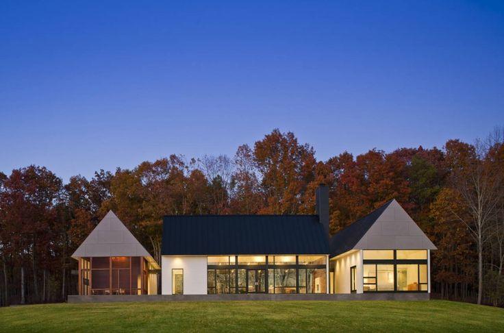 BERCHERER HOUSE BY ROBERT M. GURNEY ARCHITECT: Modern Farmhouse, Robert Gurney, Farms House, House Design, Gurney Architects, Interiors Design, Homes Decoration, Becher House, Country Homes