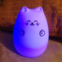 Amazon.com: [Deal]GoLine Cute Kitty LED Children Night Light, Multicolor Silicone Soft Baby Nursery Lamp, Sensitive Tap Control, Warm White & 7-Color Breathing Dual Light Modes, 12-hour Portable Usage.(GL-NL003): Baby