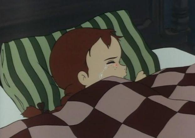 """""""Anna dai capelli rossi, 2° puntata"""" - E' un sonno agitato e lacrimevole quello che vive Anna nella sua prima notte sotto i tetti verdi"""