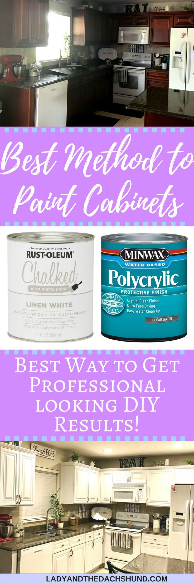 diy painted kitchen cabinets chalk paint rust oleum chalked paint helped us turn