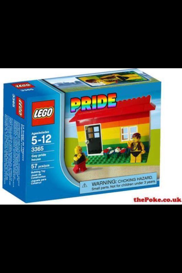 lego gay pride house   fab gay stuff pinterest i wish gay