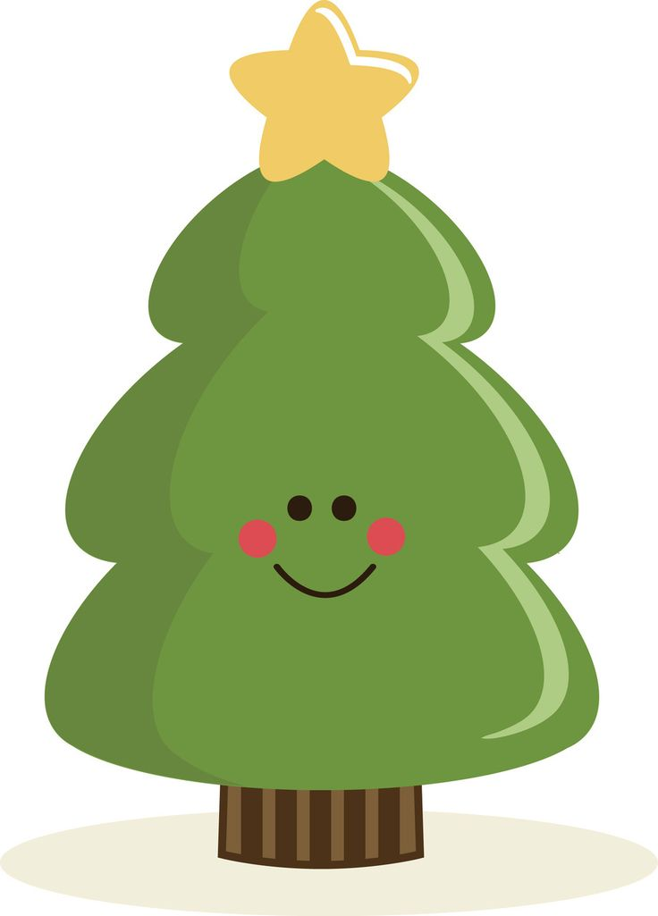 PPbN Designs - Cute Christmas Tree, $0.50 (http://www.ppbndesigns.com/cute-christmas-tree/) #SVG #cuttingfiles #silhouetteamerica #SVGfiles
