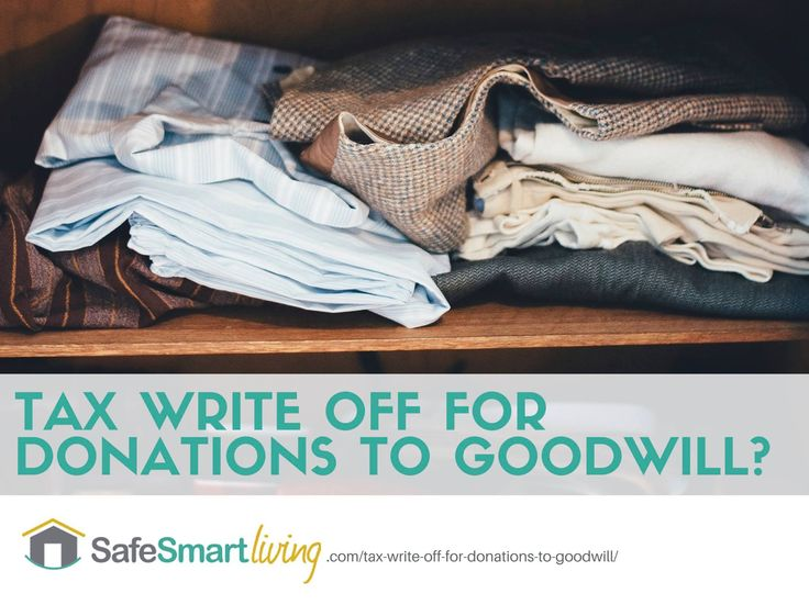 goodwill tax write off Regardless of how you contribute, we are grateful for your support and we  promise to put your tax-deductible contributions to work changing.