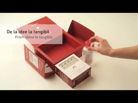 Creative Box Cosmetics Bioderma Case Product Packaging
