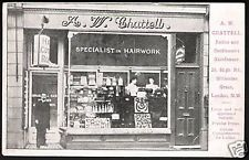 Willesden Green Hairdresser A.W.Chattell, 26 High Road.
