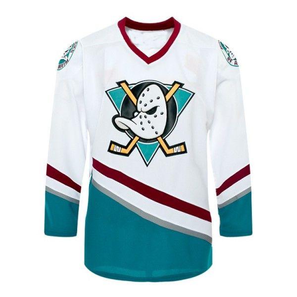 Anaheim Ducks Jersey Premier NHL - años 1996-06 - Personalizable