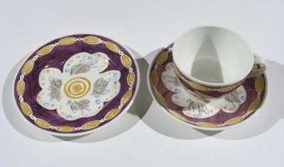 Cup, saucer and plate   Vanessa Bell