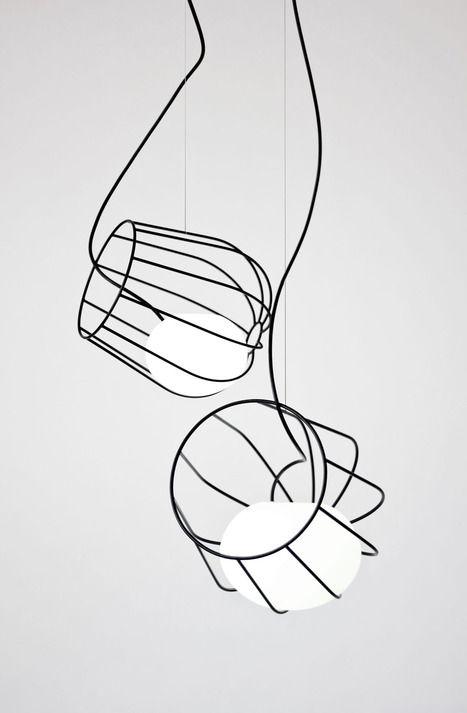 light container pendant lamp by martin azua