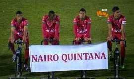 El fútbol colombiano le rinde homenaje a Quintana y Chaves