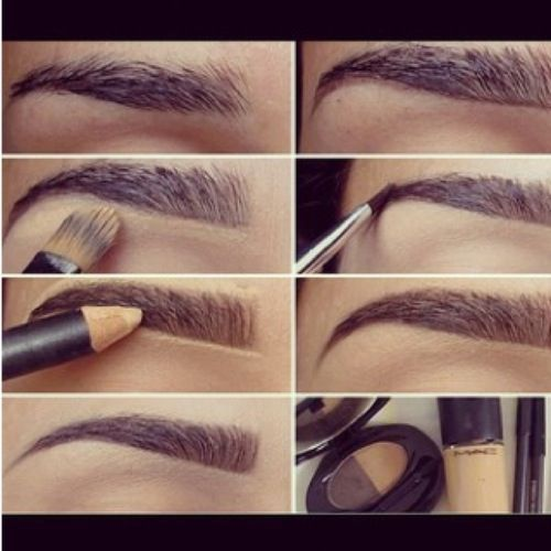 Eyebrow Tutorial Make