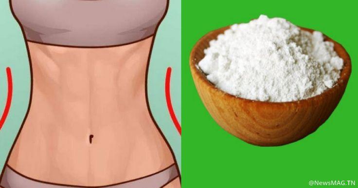 Consommer correctement le bicarbonate de soude afin de perdre la graisse du ventre | NewsMAG